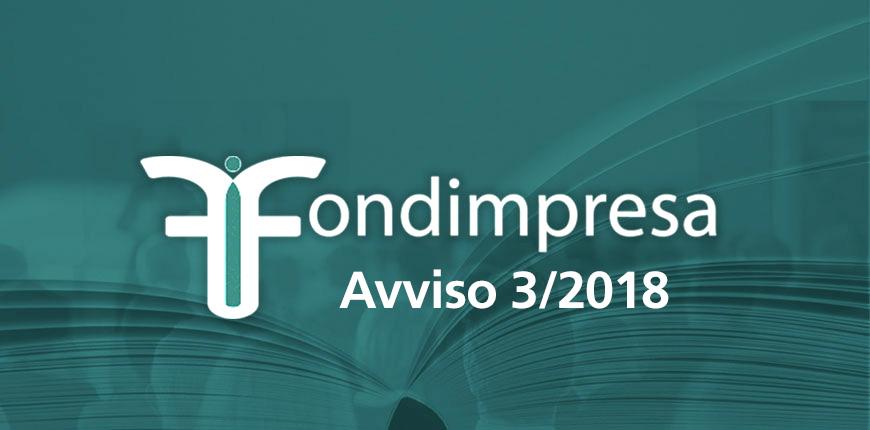 FONDIMPRESA Avviso n. 3/2018 – COMPETITIVITÀ