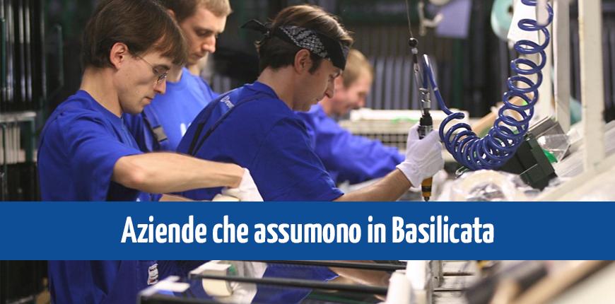 Aziende che assumono in Basilicata