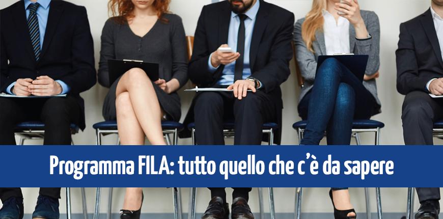 Progetto FILA Regione Campania: a che punto siamo?