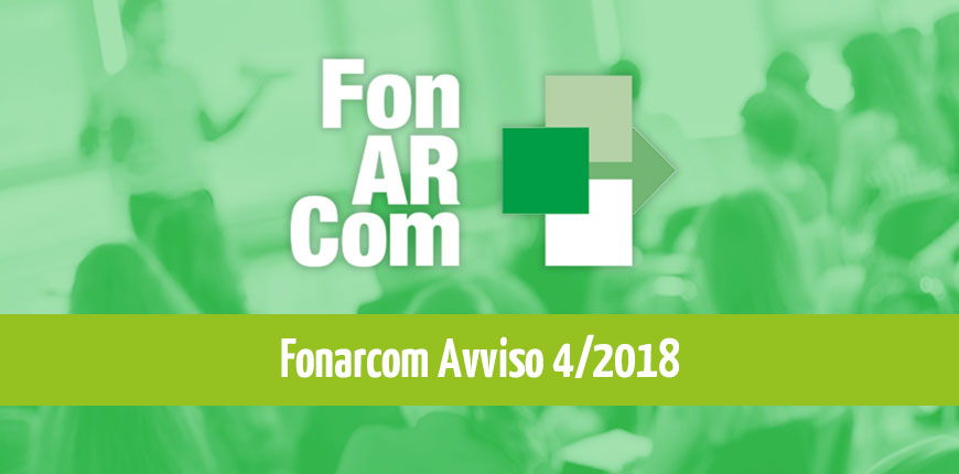 FonARCom: Avviso 4/2018 UCS – Unità di Costo Standard