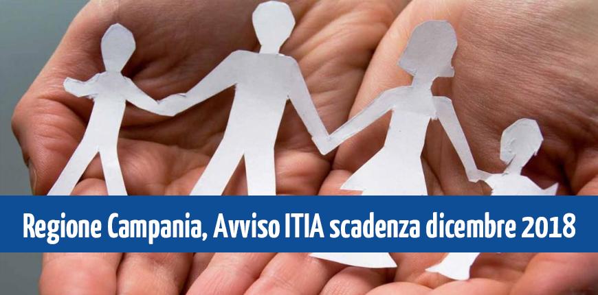 Campania: Avviso I.T.I.A. – Intese Territoriali di Inclusione Attiva