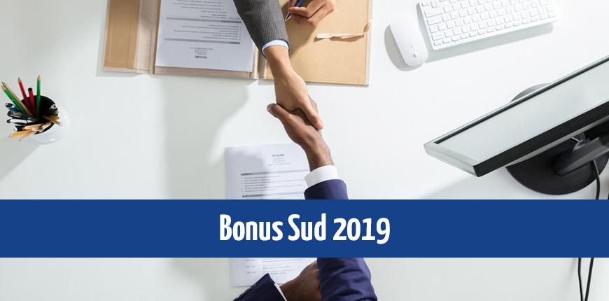 Bonus Sud 2019: cosa dice la circolare INPS 102/2019