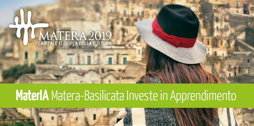 Avviso MaterIA: la Basilicata investe sull'apprendimento