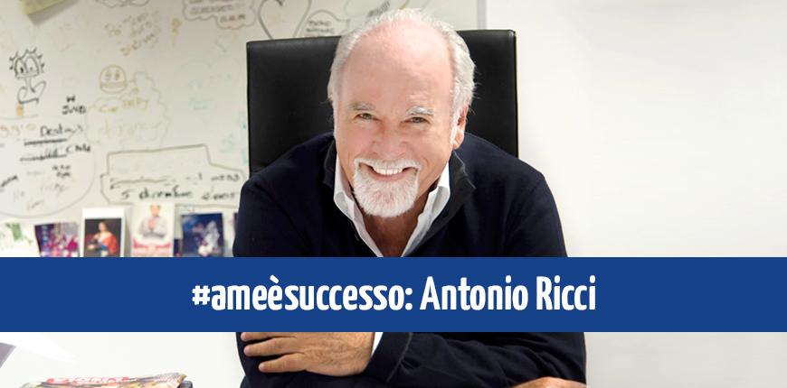 """Antonio Ricci fra i testimonial di """"A me è Successo"""""""