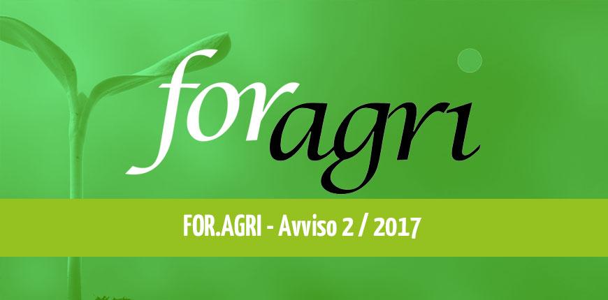 ForAgri Avviso 2/2017: piani ammessi a contributo tipologia A