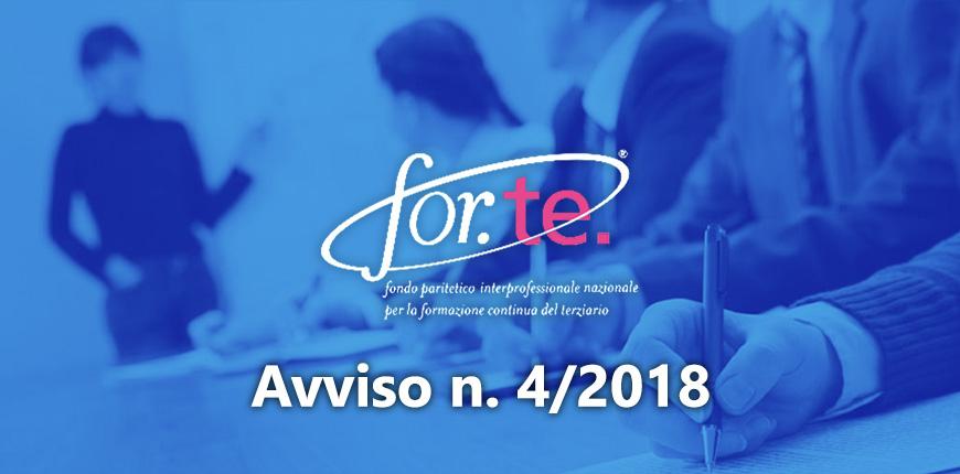 Avviso For.Te. 4/2018 – Proroga