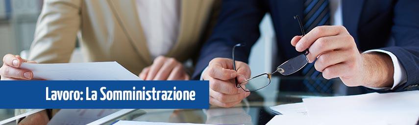 contratti di lavoro somministrazione e agenzia del lavoro