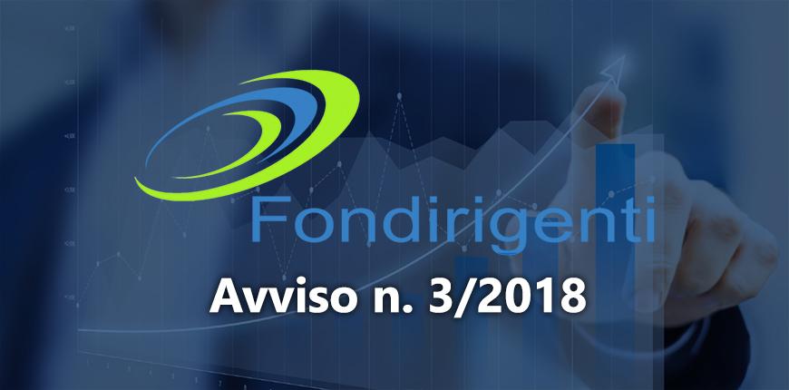 Fondirigenti – Avviso 3/2018