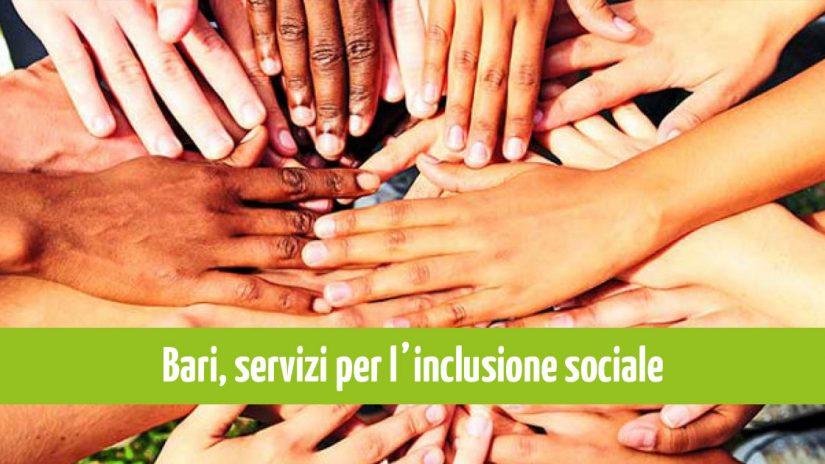 Bari, nuovo bando PON per l'inclusione sociale